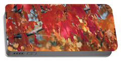 The Beauty Of Fall's Leaves Portable Battery Charger