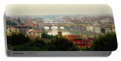 Portable Battery Charger featuring the photograph The Beauty Of Florence  by Alan Lakin