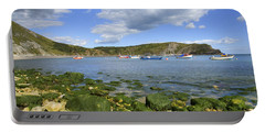 Portable Battery Charger featuring the photograph The Beauty Of Lulworth Cove by Ian Middleton