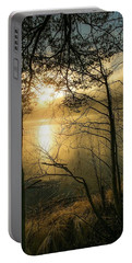 The Beauty Of Nature Portable Battery Charger by Rose-Marie Karlsen