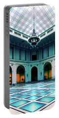 Portable Battery Charger featuring the photograph The Beaux-arts Court by Chris Lord