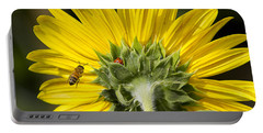 The Bee Lady Bug And Sunflower Portable Battery Charger