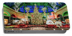 The Bellagio Christmas Tree 2017 2.5 To 1 Ratio Portable Battery Charger