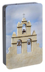 Portable Battery Charger featuring the photograph The Bells Of San Juan by Mary Jo Allen