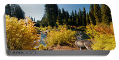Portable Battery Charger featuring the photograph The Bend Of The Rogue River by Diane Schuster