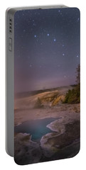 The Big Dipper In Yellowstone National Park Portable Battery Charger