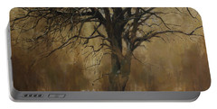 The Big Tree With Wild Boars Portable Battery Charger