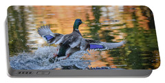 The Birds Of Autumn No. 3 Portable Battery Charger
