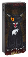 The Black Cat Edgar Allan Poe Portable Battery Charger