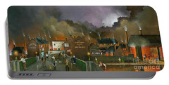Portable Battery Charger featuring the painting The Black Country Museum 2 by Ken Wood