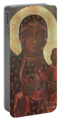 The Black Madonna Of Jasna Gora Portable Battery Charger