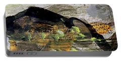 The Black Mountain Portable Battery Charger by Nancy Kane Chapman