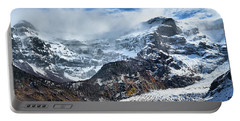 The Black Snowdrift Glacier Portable Battery Charger