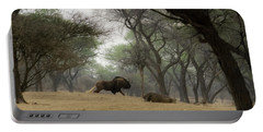 The Black Wildebeest Portable Battery Charger