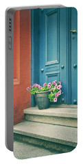 The Blue Door Portable Battery Charger by Karen Stahlros