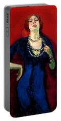 The Blue Gown Portable Battery Charger