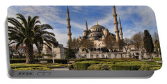 The Blue Mosque In Istanbul Turkey Portable Battery Charger by David Smith