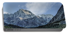 The Blue Mountains Of Glacier National Park Portable Battery Charger