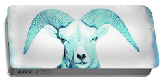 Portable Battery Charger featuring the photograph The Blue Ram by Jennie Marie Schell