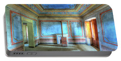 The Blue Room Of The Villa With The Colored Rooms Portable Battery Charger