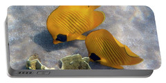 The Bluecheeked Butterflyfish Portable Battery Charger