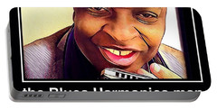 the Blues Harmonica man Portable Battery Charger