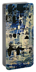 The Blues Abstract Portable Battery Charger