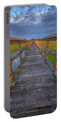 The Boardwalk In The Marsh Portable Battery Charger