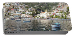 The Boats Of Positano  Portable Battery Charger