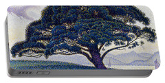 The Bonaventure Pine  Portable Battery Charger by Paul Signac