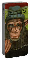 The Book Of Chimps Portable Battery Charger