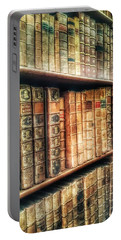 The Bookcase Portable Battery Charger