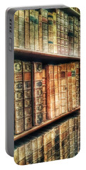 The Bookcase Portable Battery Charger by Isabella F Abbie Shores FRSA