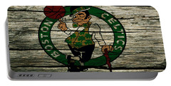The Boston Celtics 2w Portable Battery Charger by Brian Reaves
