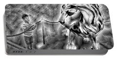 The Boy And The Lion 18 Portable Battery Charger