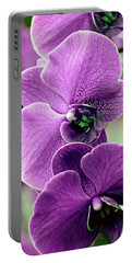 The Branch Of Orchids Portable Battery Charger