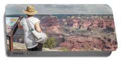 The Breathtaking View Portable Battery Charger