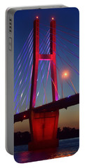 The Bridge And The Sunset Portable Battery Charger