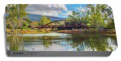 The Bridge At Vasona Lake Digital Art Portable Battery Charger