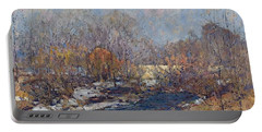 The Bridge  Garfield Park  By William J  Forsyth Portable Battery Charger