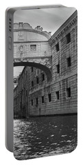 The Bridge Of Sighs, Venice, Italy Portable Battery Charger