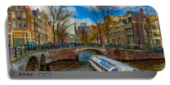 The Bridges Of Amsterdam Portable Battery Charger