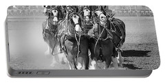 The Budweiser Clydesdales Portable Battery Charger