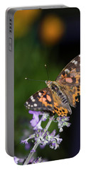 Portable Battery Charger featuring the photograph The Butterfly Effect by Alex Lapidus