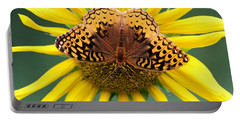 The Butterfly Effect Portable Battery Charger by Tina  LeCour