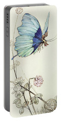The Butterfly Took Wing, And Mounted Into The Air With Little Tom Thumb On His Back Portable Battery Charger