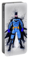 The Caped Crusader Portable Battery Charger