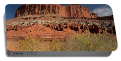 The Castle In Capital Reef Portable Battery Charger