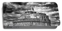 The Castle Of Sant'angelo In Rome Portable Battery Charger