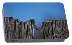 Portable Battery Charger featuring the photograph The Caterpillar by Cendrine Marrouat